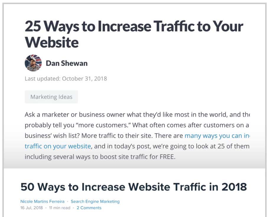 25 way to increase traffic to your website
