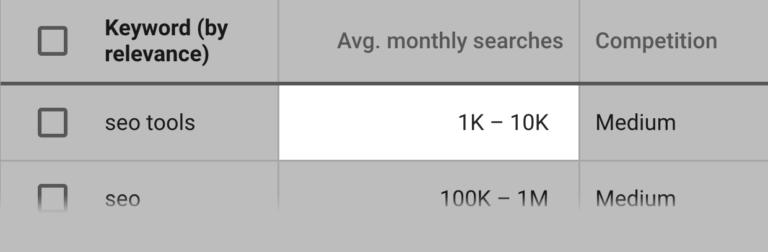 """جستجوی ماهانه """"SEO Tools"""" در گوگل"""