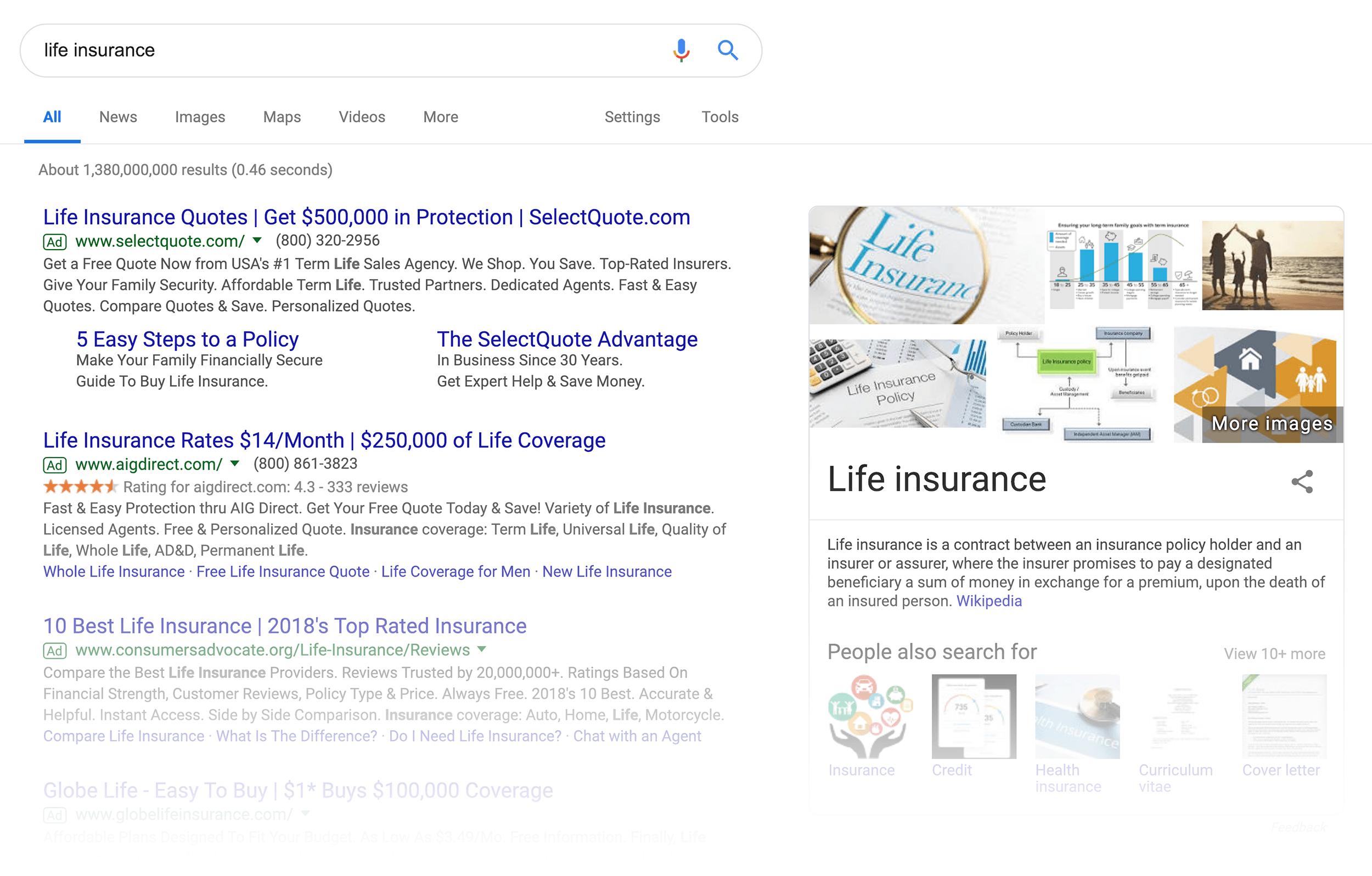 """نتایج جستجوی """"life insurance"""""""