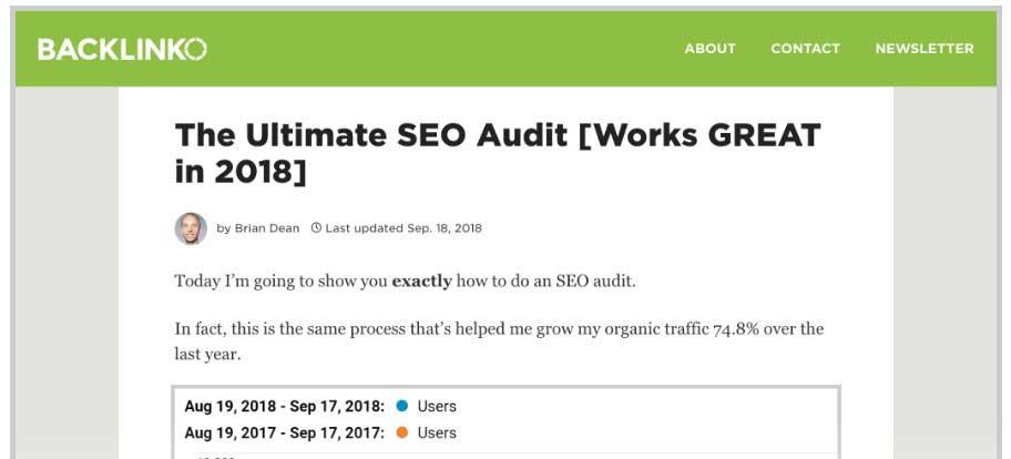 ultimate seo audit