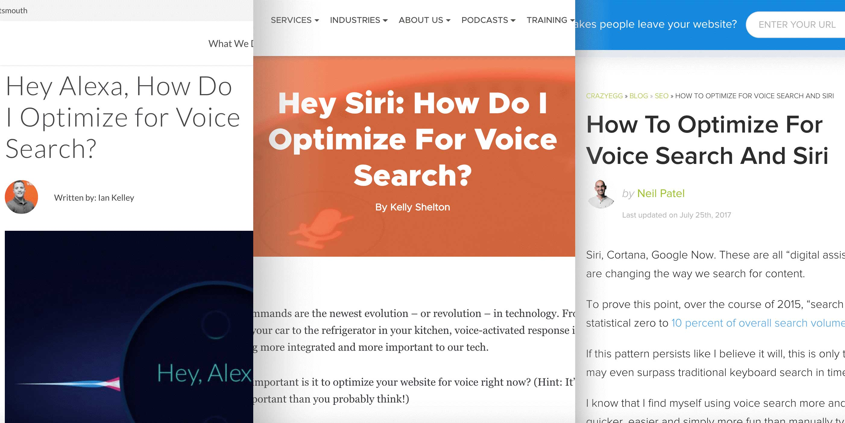 voice search posts