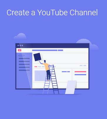 ساخت چنل یوتیوب