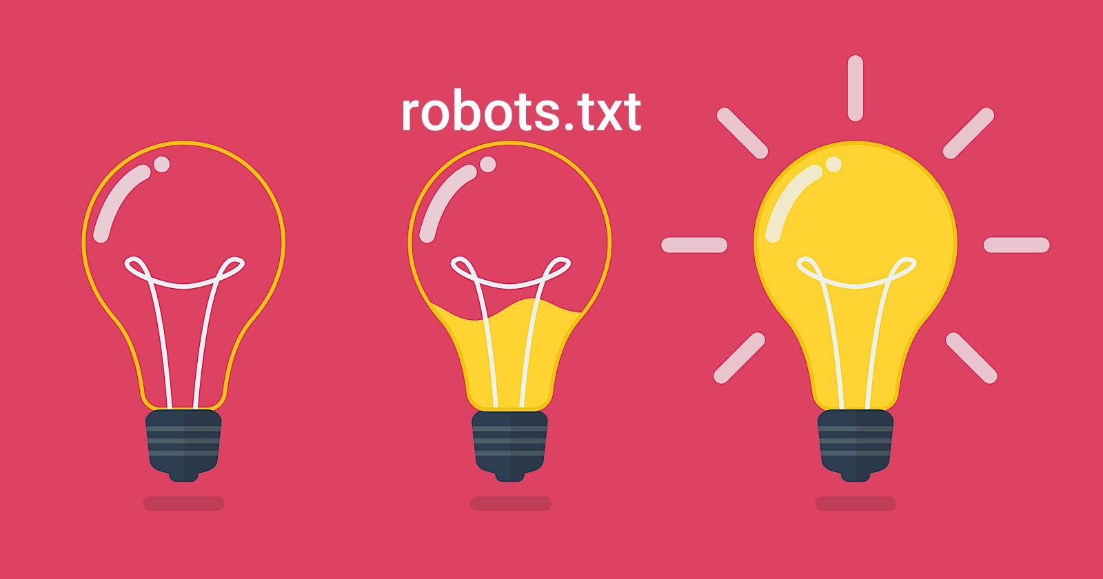 جلوگیری از ایندکس شدن فایل های Robots.txt