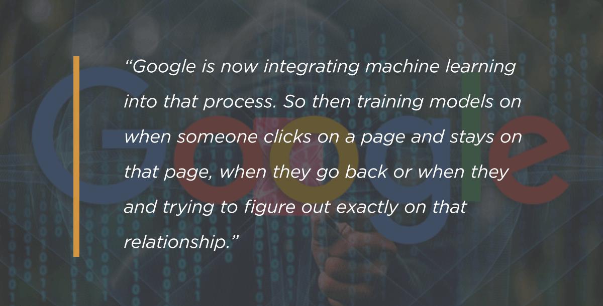 یادگیری ماشینی گوگل