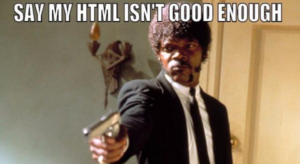 ساختار html