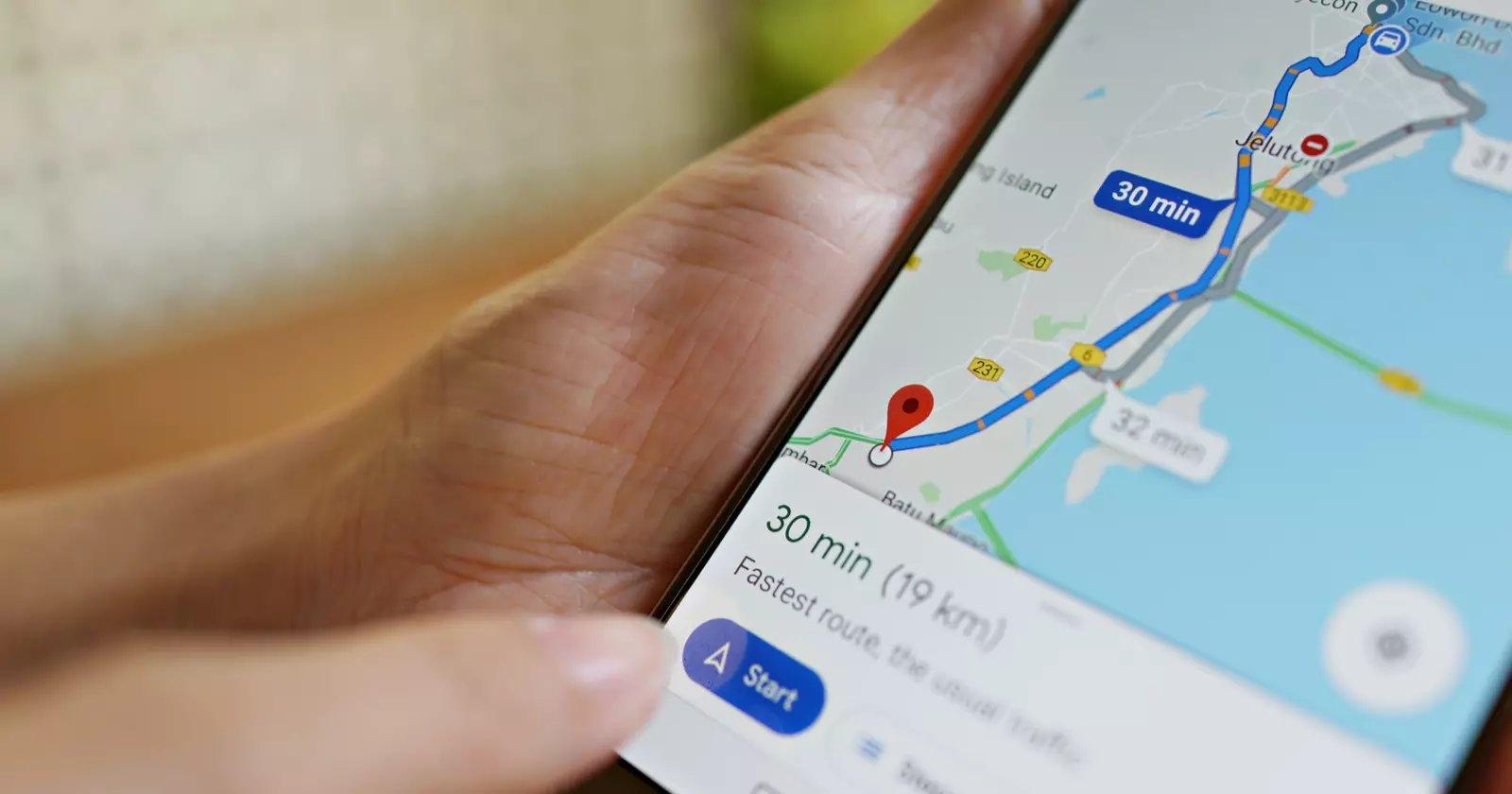 راهنمای کامل گوگل مپ