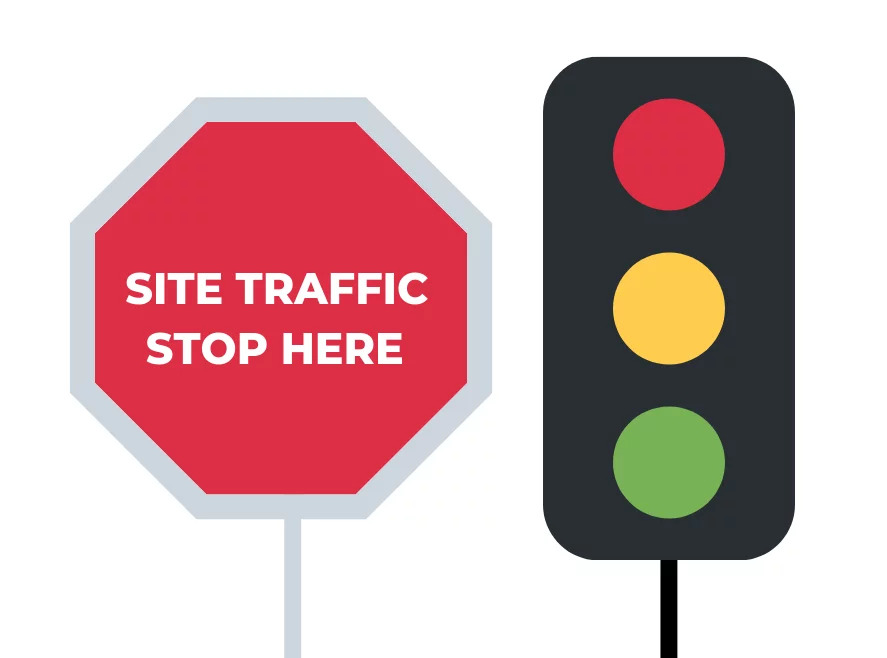 site traffic stop