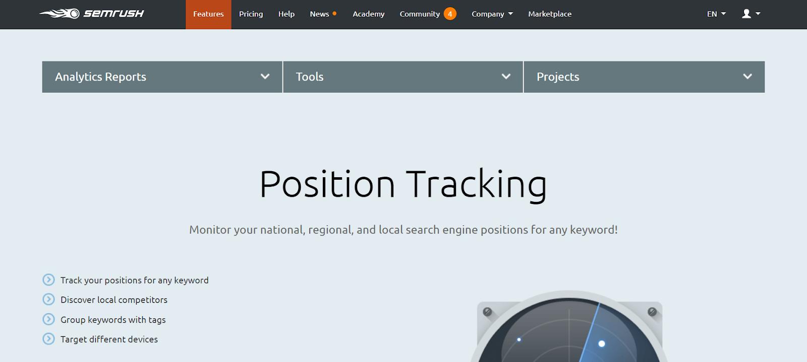 SEMrush-Rank-Tracker-Tools