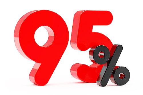 95% از سئو